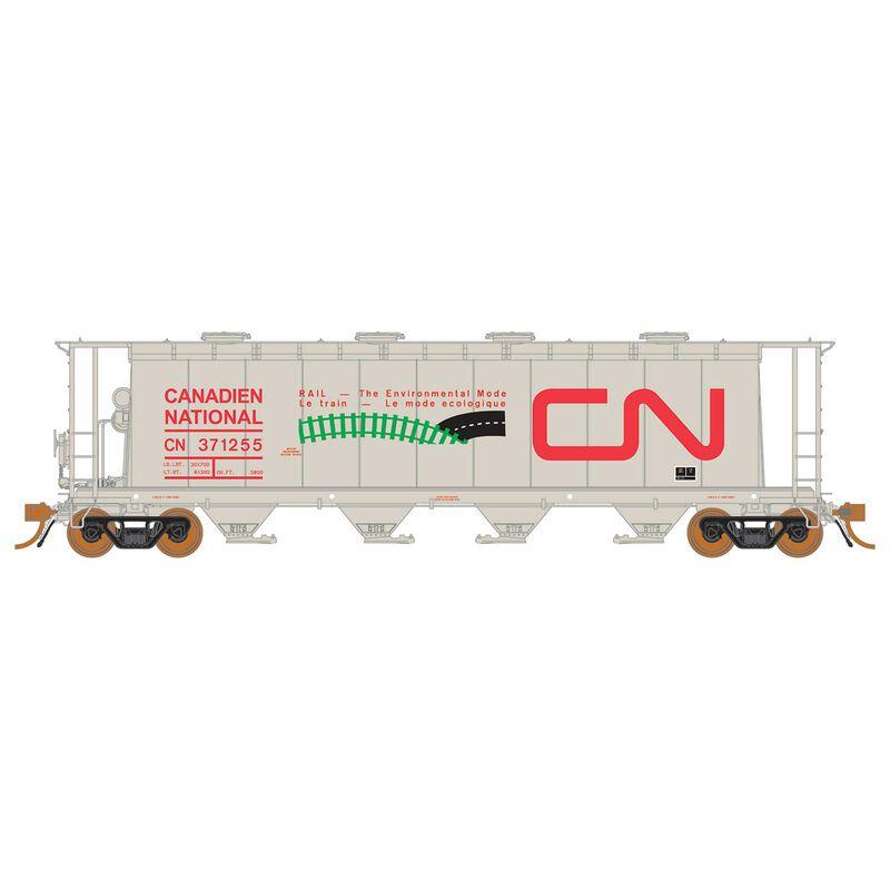 HO 3800 Covered Hopper CN Environmental Mode