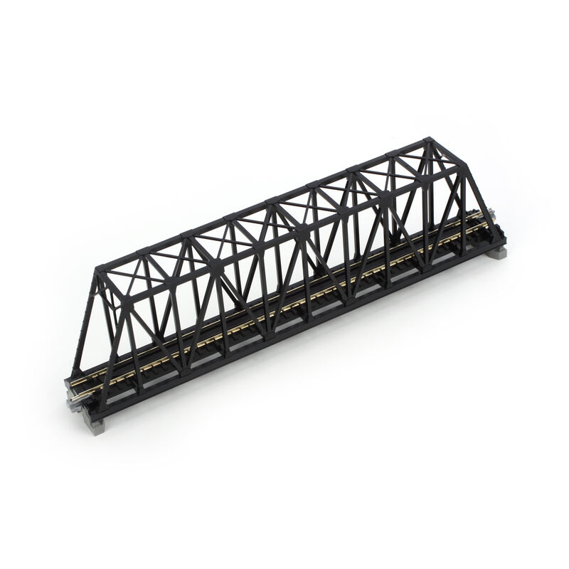 "N 248mm 9-3/4"" Truss Bridge, Black"