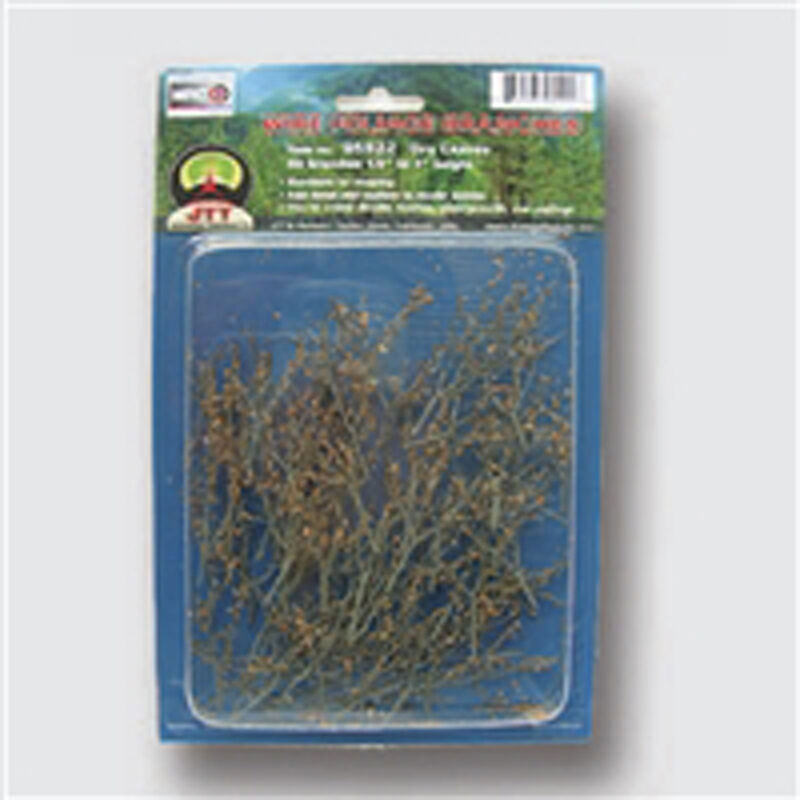 Wire Branches, Wood Color 1.5-3""