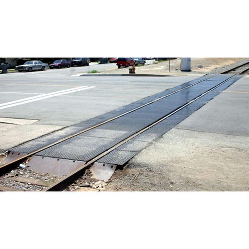 N Modern Grade Crossing Extension, Rubber