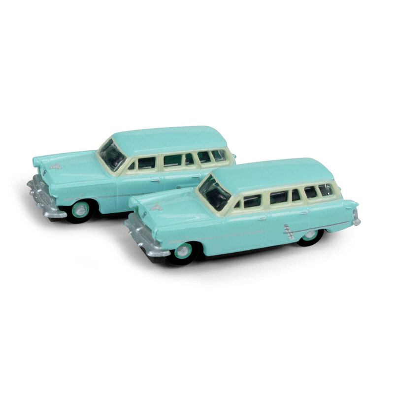N 1953 Ford Station Wagon, Cascade Green (2)