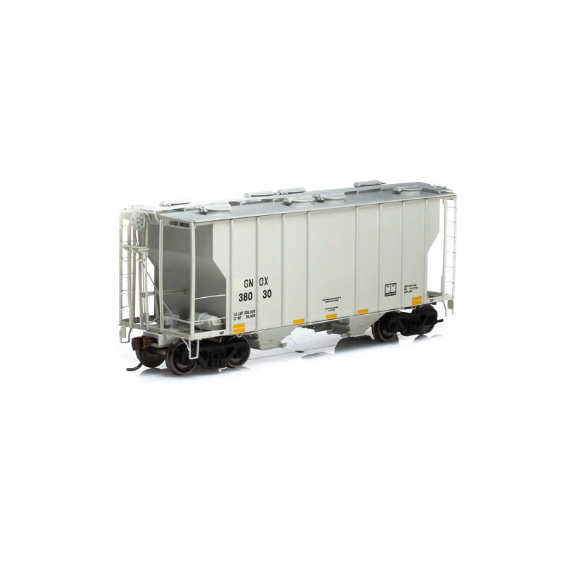 HO RTR PS-2 2600 Covered Hopper GNOX #38030
