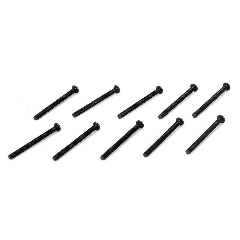 Button Head Screws, M3 x 35mm (10)
