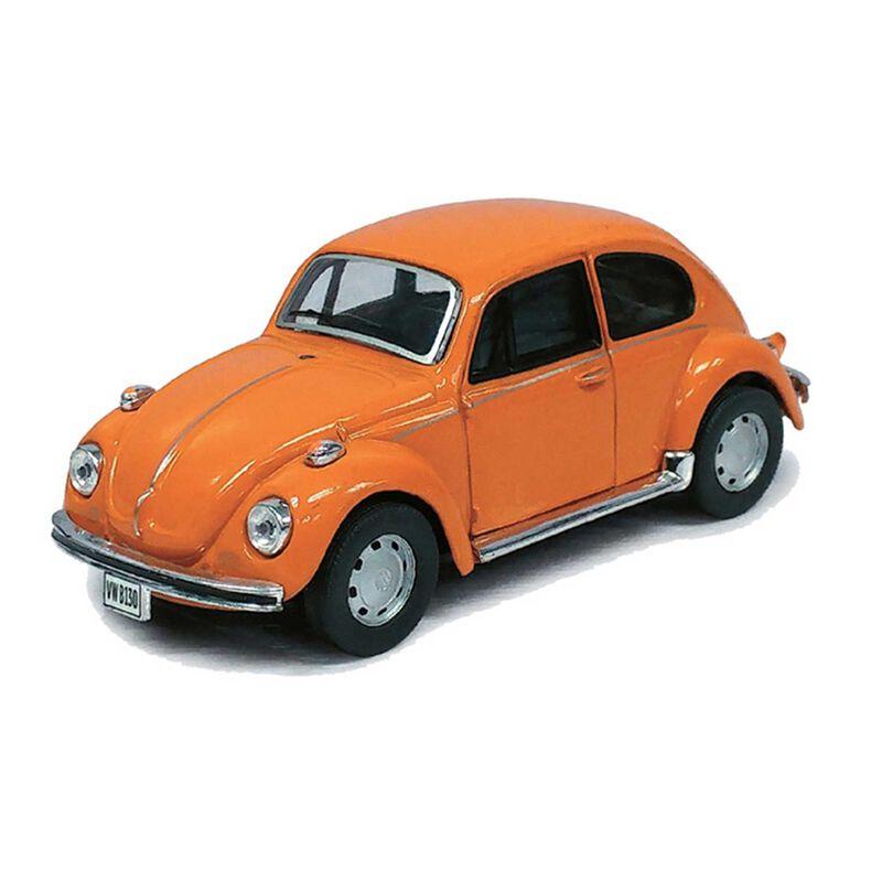 Cararama 1 43 VW Beetle, Orange