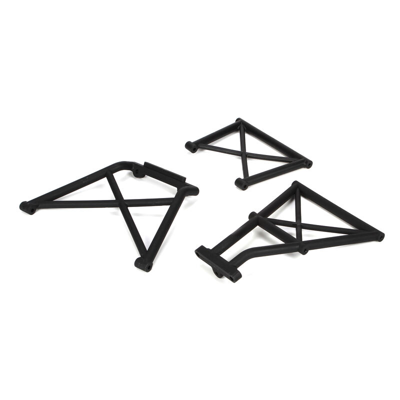 Rear Bumper Brace Set (3): 5IVE-T
