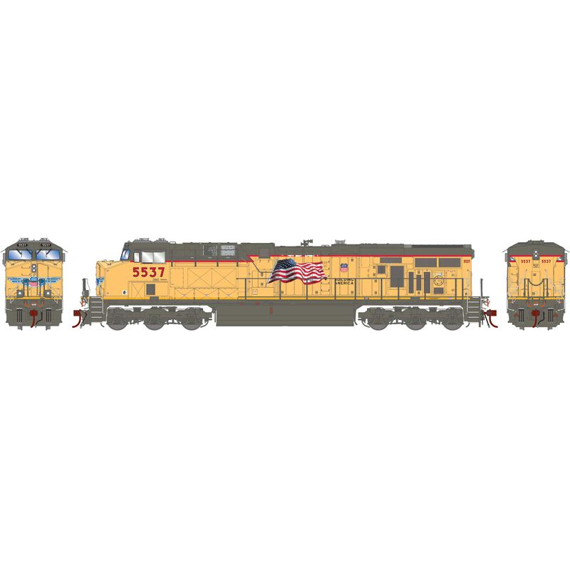 HO ES44AC w DCC & Sound UP Fader #5537