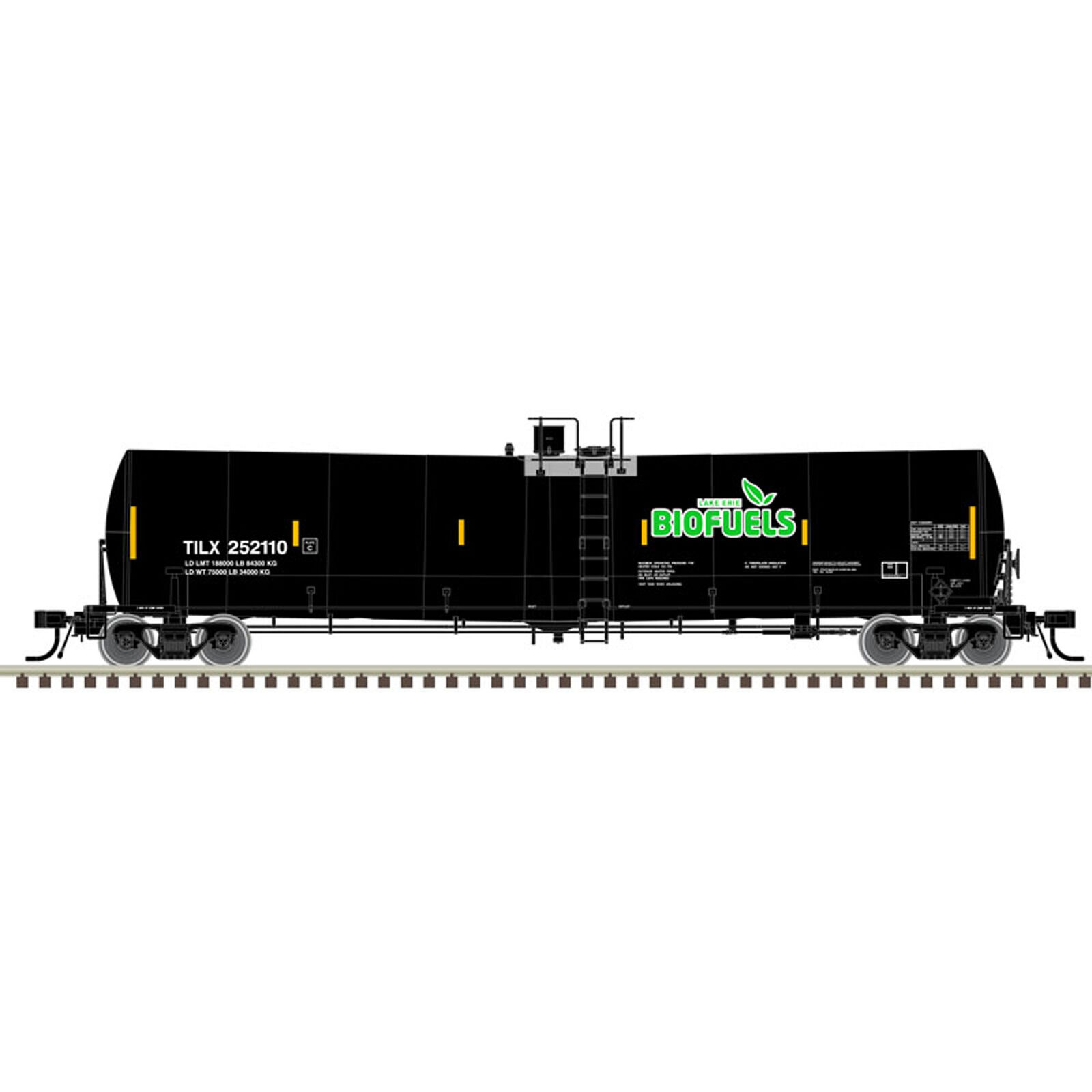 N 25 000-Gallon Tank Lake Erie Biofuels #252105