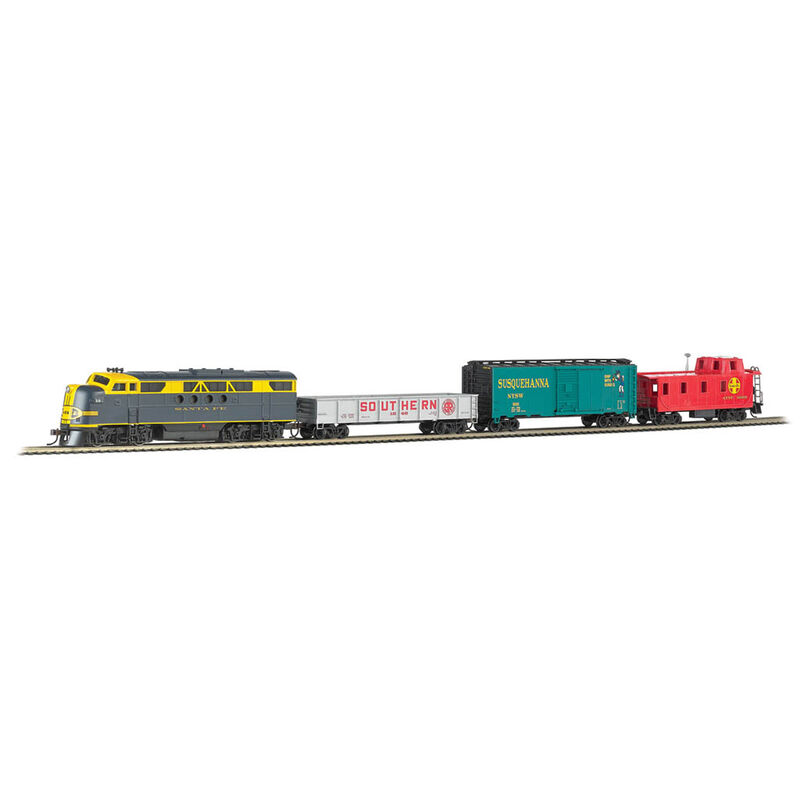 HO Blue Lightning Set with E-Z App Train Control