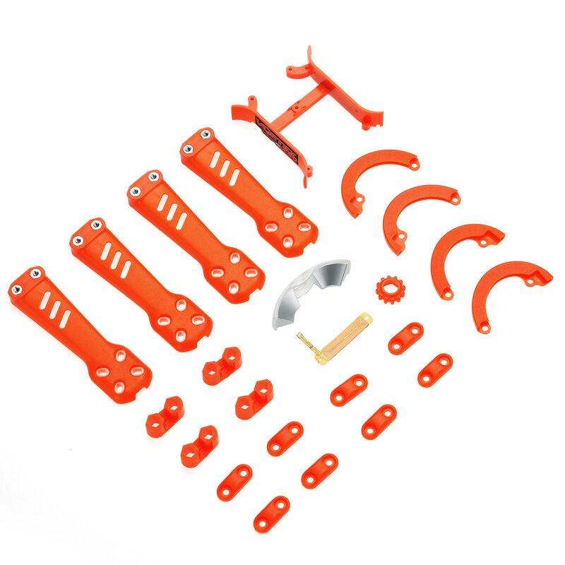 Plastic Kit, Orange: Vortex 230