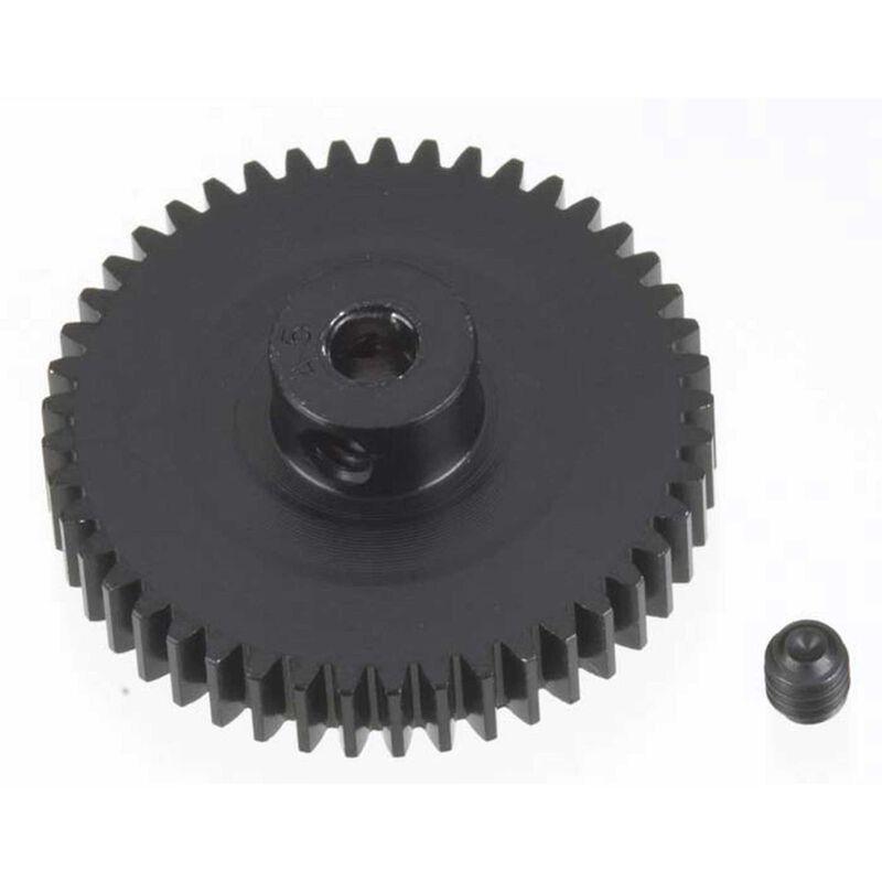 48P Hard Coated Aluminum Pinion Gear, 45T