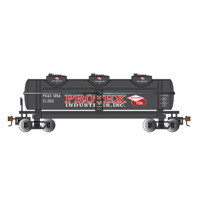 HO 40' 3-Dome Tank Protex Industries