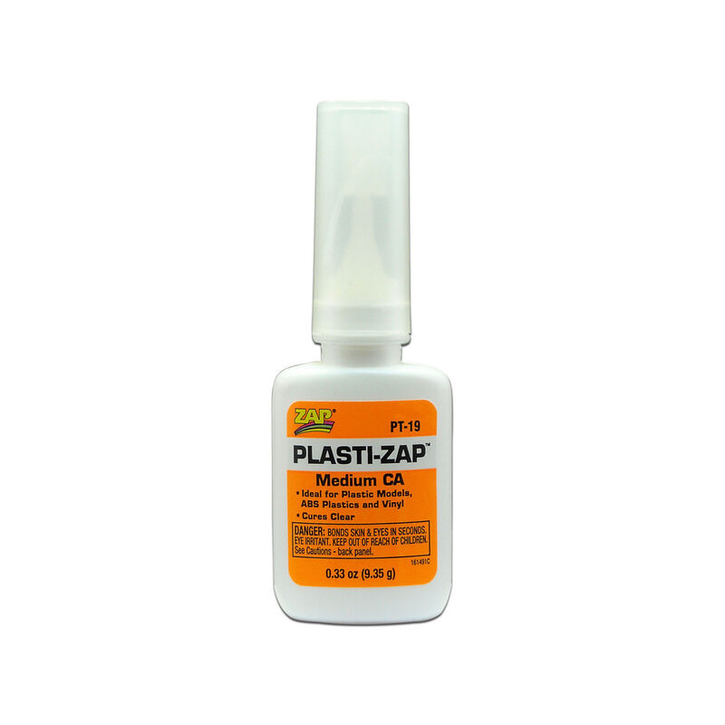 Plasti-Zap Medium CA Glue, 1/3 oz