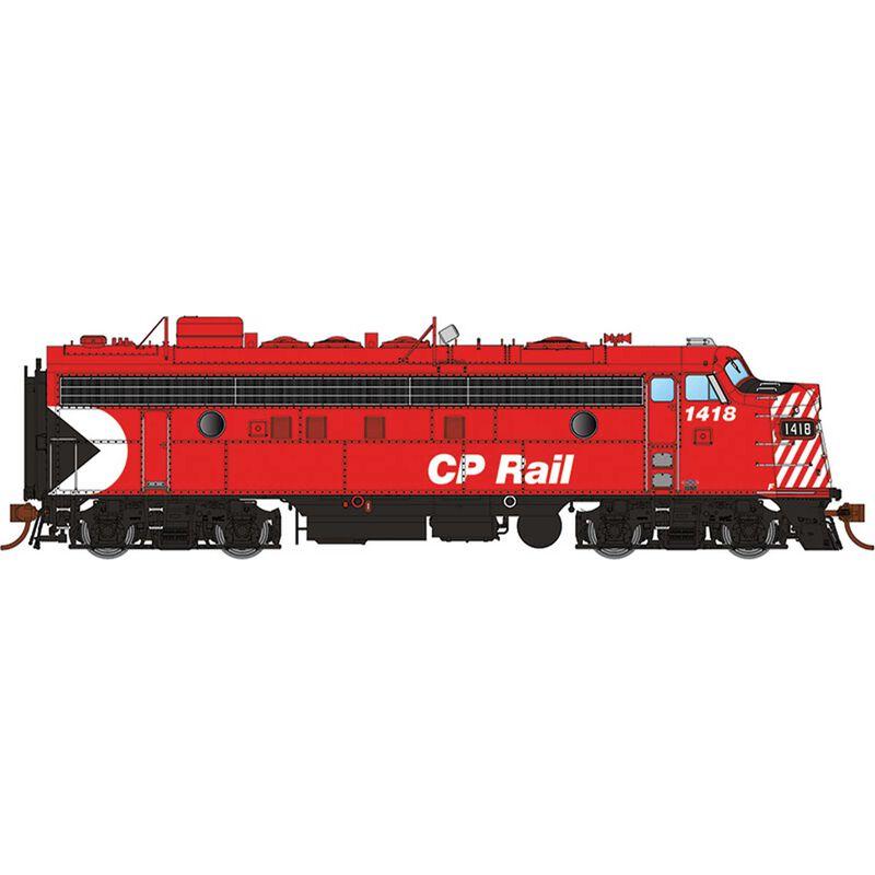 "HO FP7 CPR Red 5""Stripes #1418"
