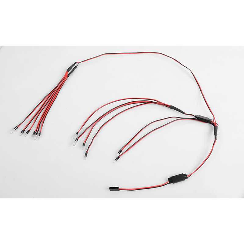 LED Basic Lighting System: Cruiser Body Set
