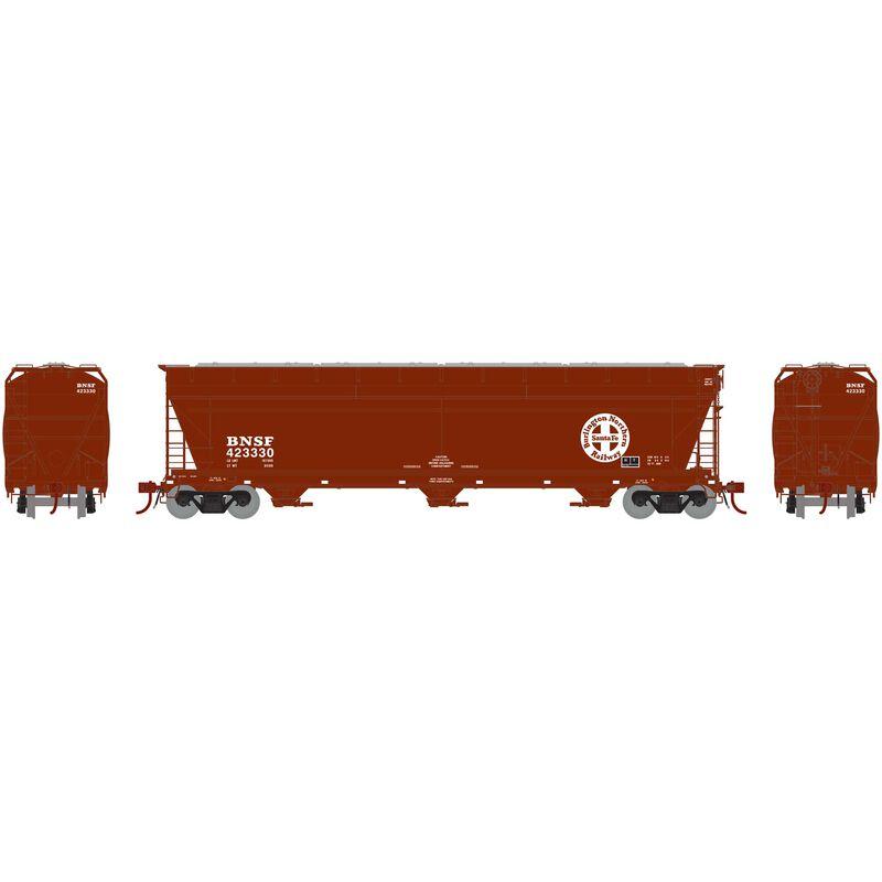 N ACF 4600 3-Bay Centerflow Hopper BNSF #423330