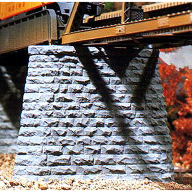 N Cut Stone Bridge Pier, Pointed End (2)