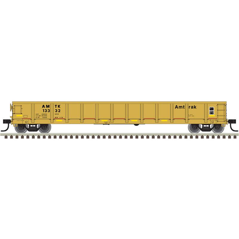 HO Evans Gondola Amtrak+ Orange/Black Faded #13332