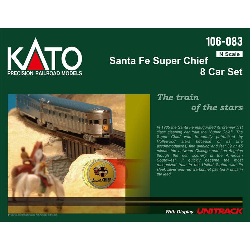 N Passenger Car Set SF Super Chief (8)