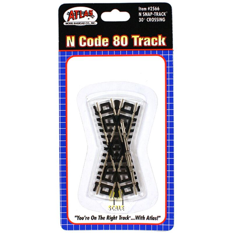 N Code 80 30 Degree Crossing