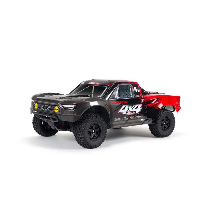 1/10 SENTON 4X4 V3 MEGA 550 Brushed Short Course Truck RTR, Red