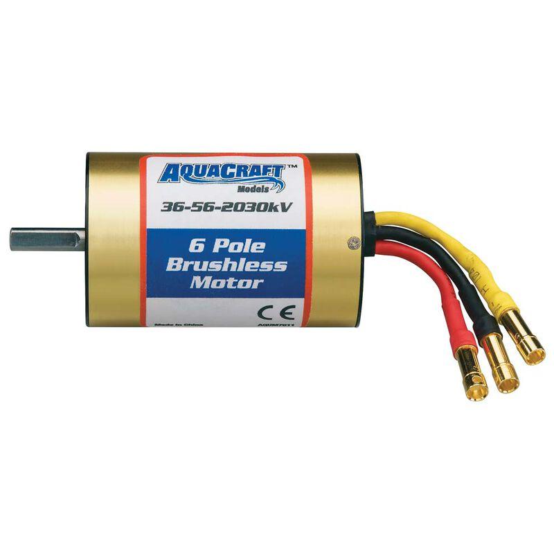 Brushless 6-Pole Marine Motor 36-56-2030