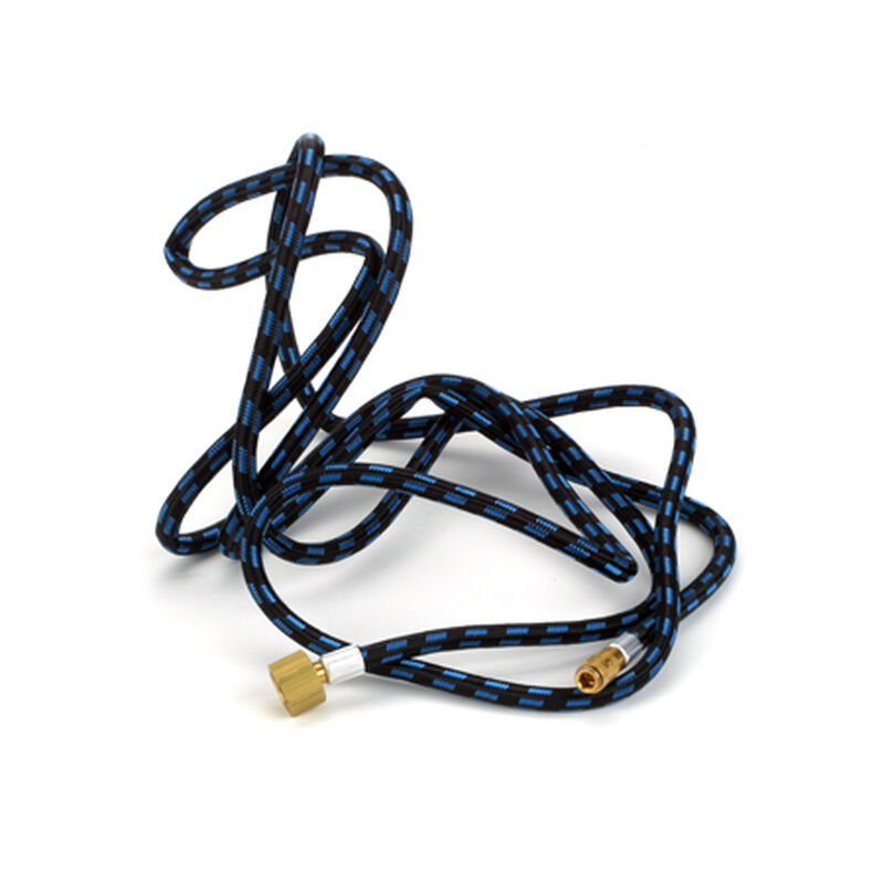 Quick Disconnect Braided Hose, 8ft