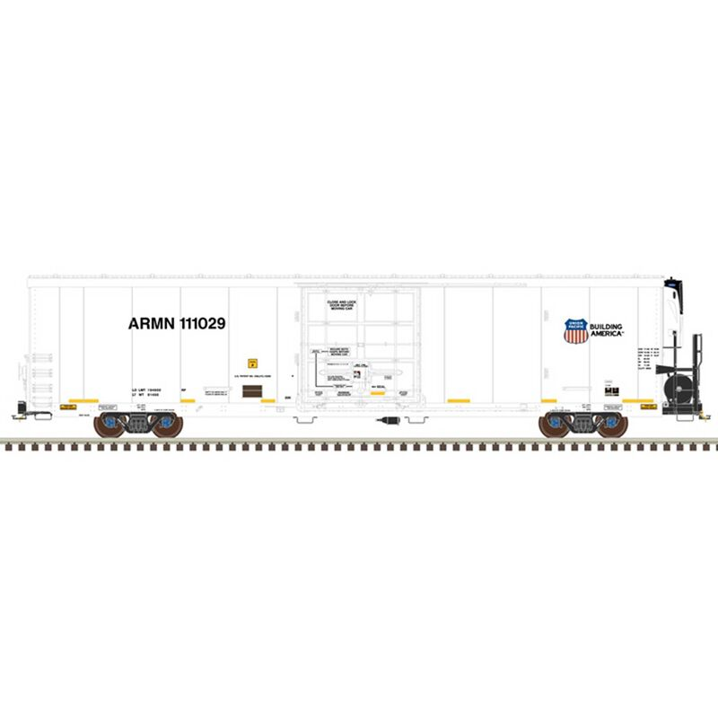 Union Pacific (High Numbers) 111318 (White Black)