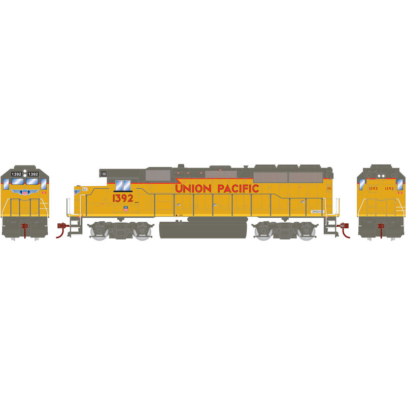 HO GP40-2 UP Baby Wings #1392
