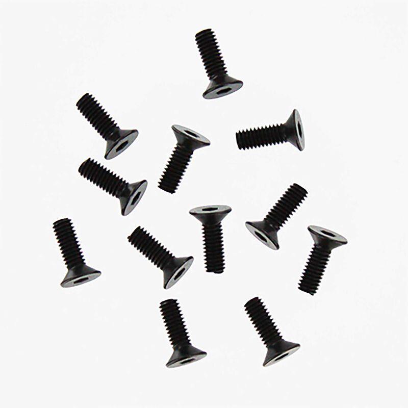 Countersunk Machine Screw, 4x12mm (12): Rampage