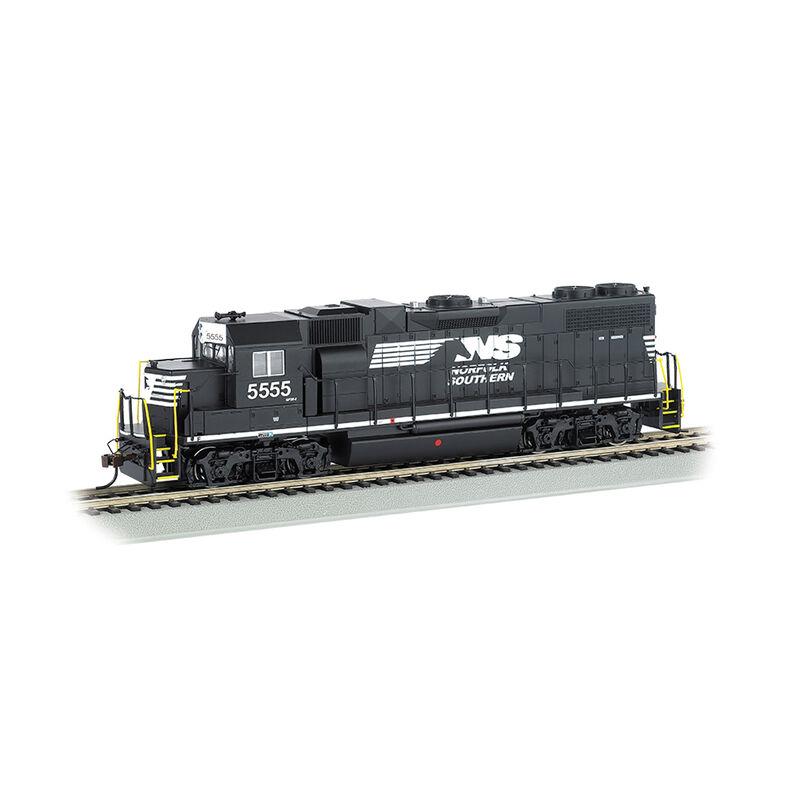 HO GP38-2 w/DCC & Sound Value, NS/Thoroughbred