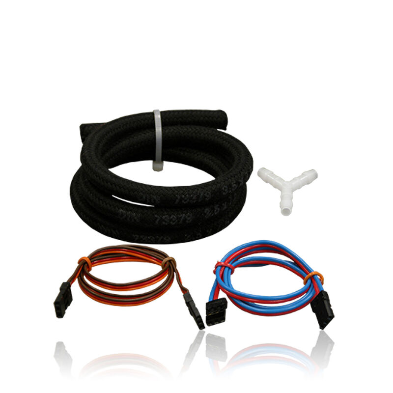 Accessories kit Smokepump Patchleads Y-pc Rbr hose