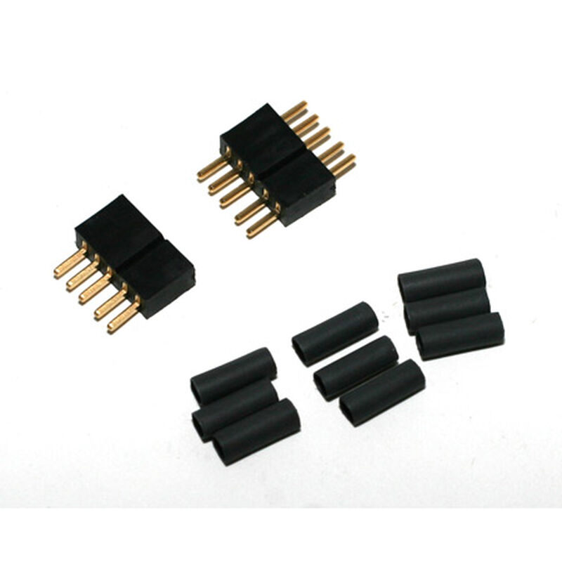 Connector: 5 Pin Set with Shrink Tubing