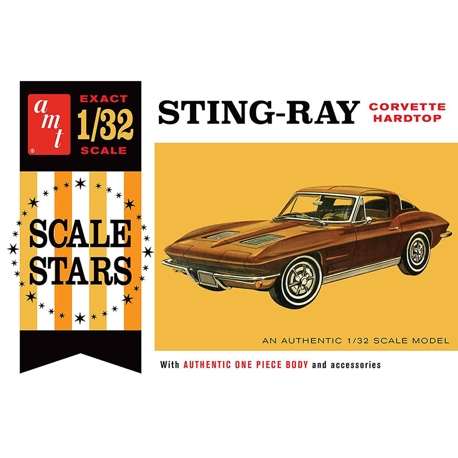 1/32 1963 Chevy Corvette, Model Kit