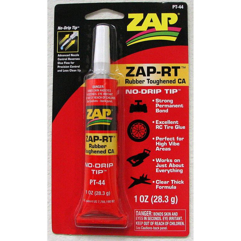 ZAP-RT Rubber Toughened CA, 1 oz