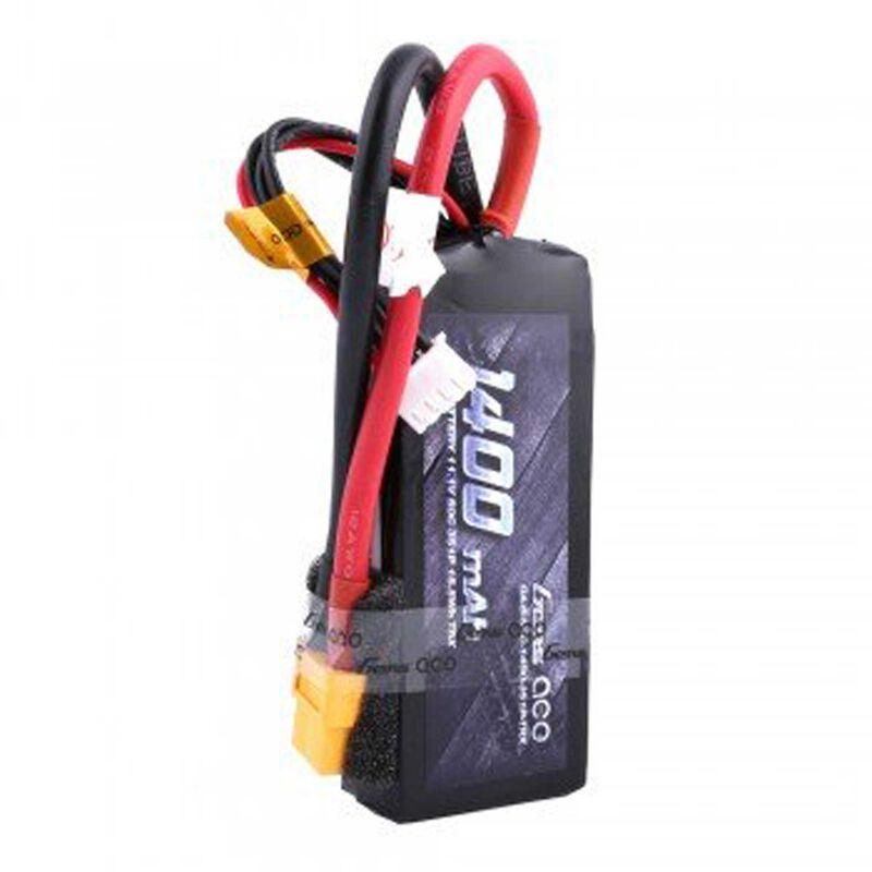 11.1V 1400 Capacity 3S Voltage 50C Rate XT60