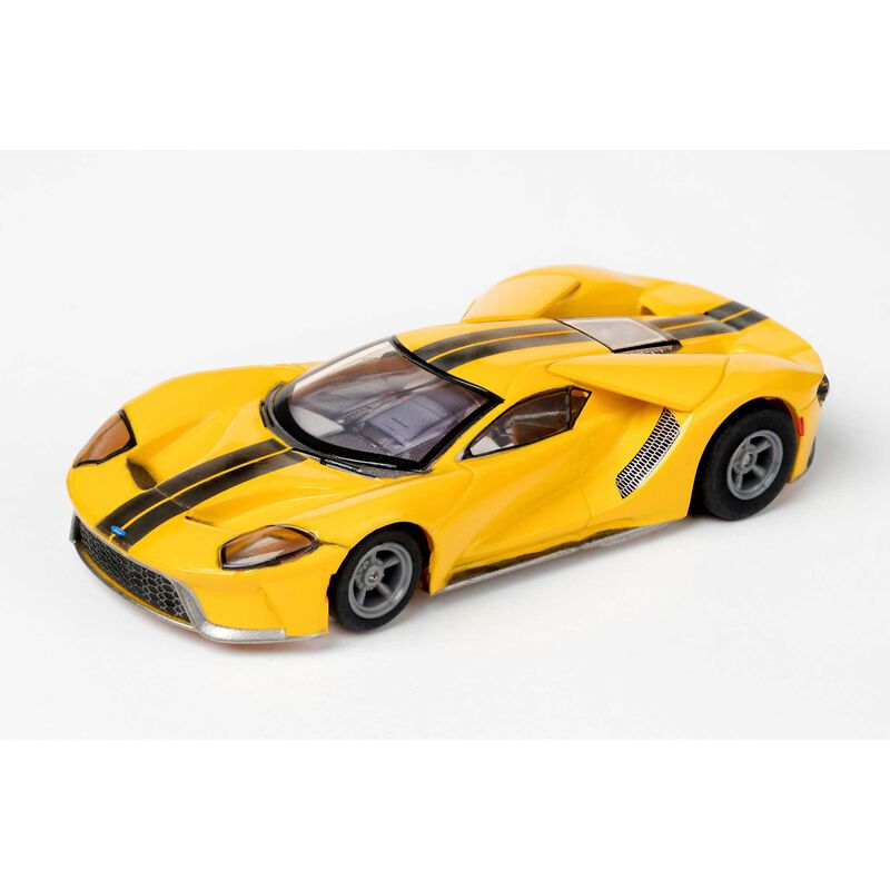 Ford GT - Triple Yellow (MG+) Slot Car
