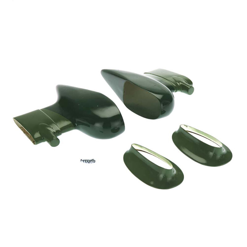 Wheel Pants Set Stuka 1.20 20cc EP ARF
