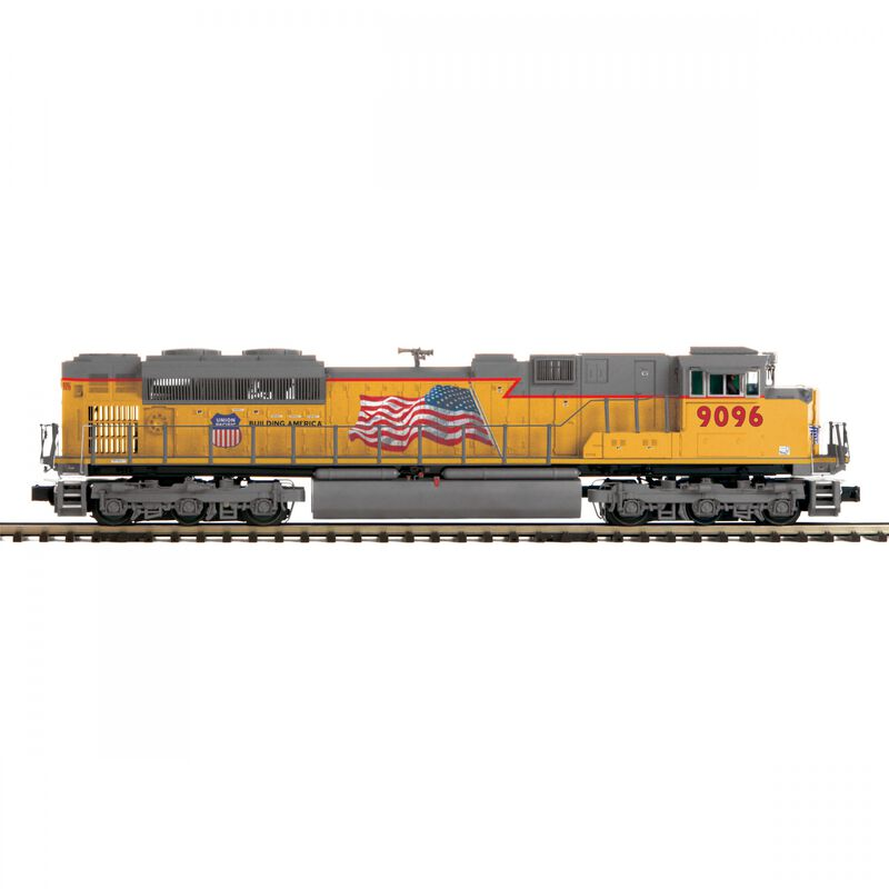 O SD70ACe with PS3 Hi-Rail UP #9096