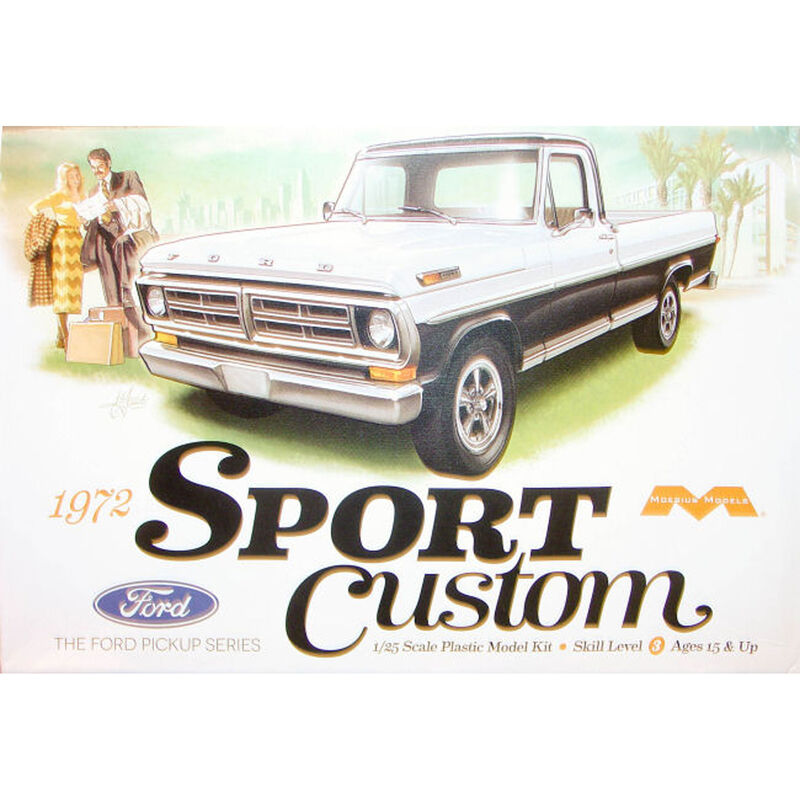 1972 Ford Sport Custom Pickup Truck