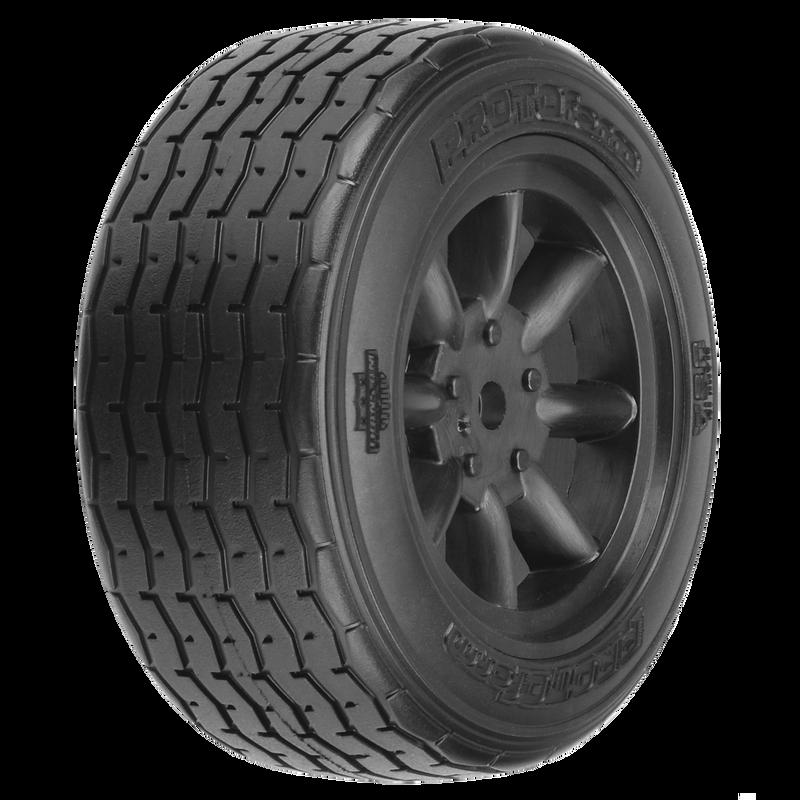 1/10 PROTOform VTA Front Pre-Mounted Tires 12mm (2) Black