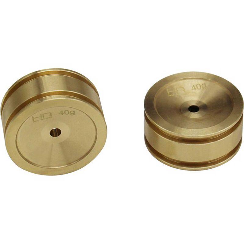 Brass Wheel (2): SCX24