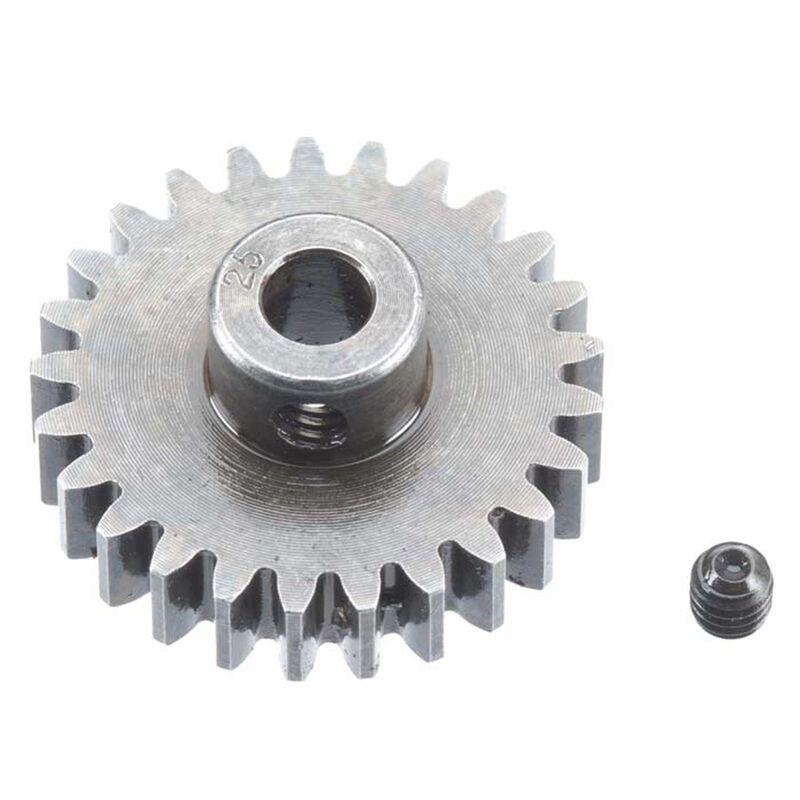 Extra Hard Steel 5mm Bore 1 Module Pinion, 25T
