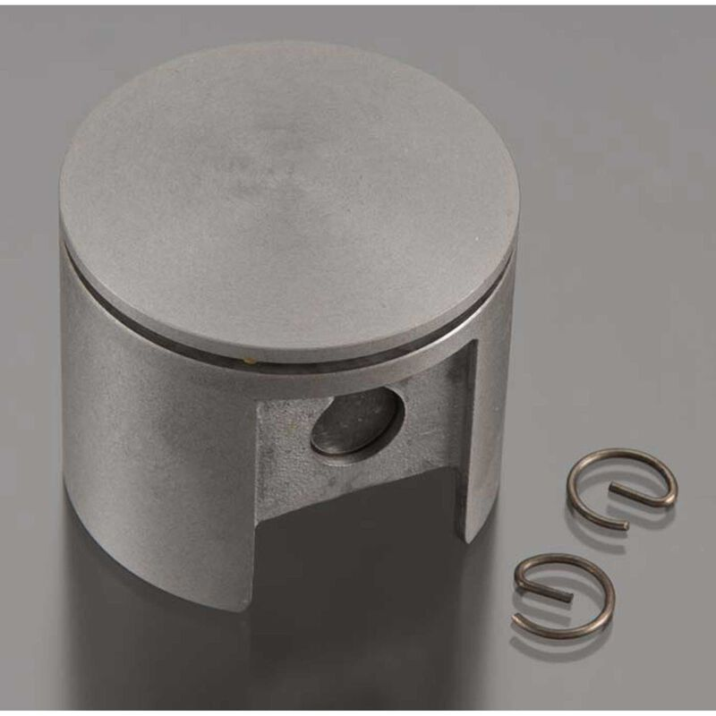 Piston with Pin and Retainer: DLE 55-RA