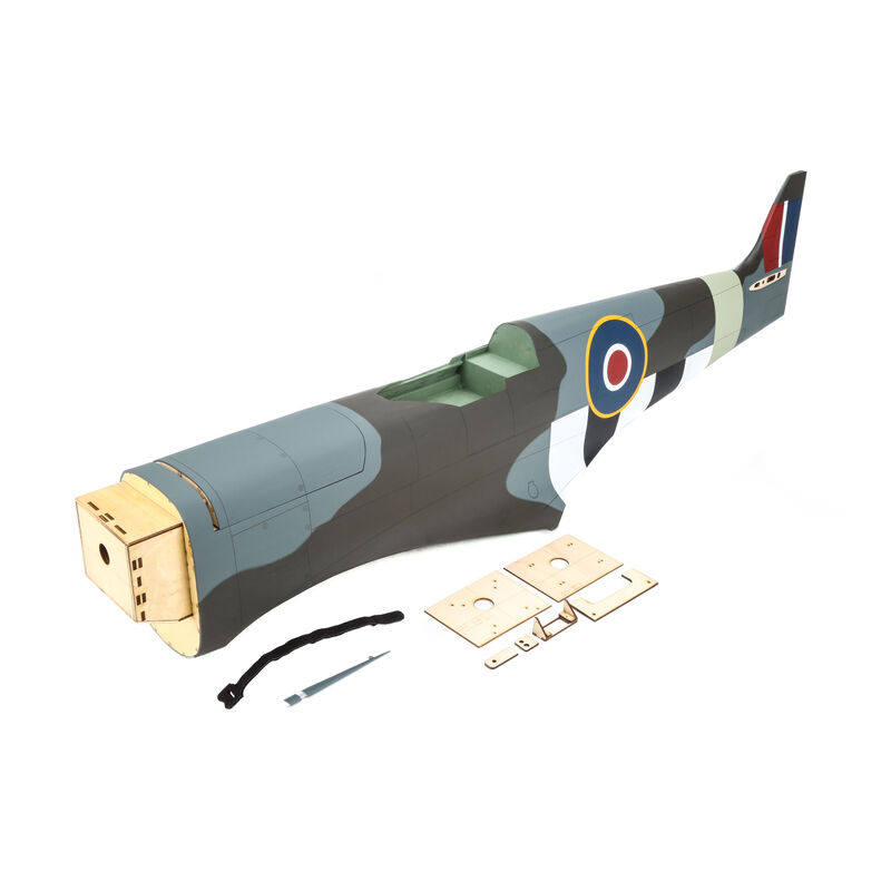Fuselage without Hatch: Spitfire MkIX 30cc