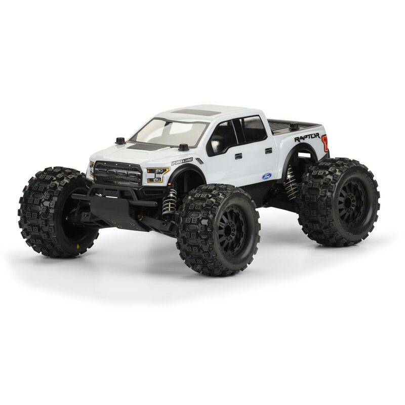 Clear Body, 2017 Ford F-150 Raptor: 1/10 PRO-MT