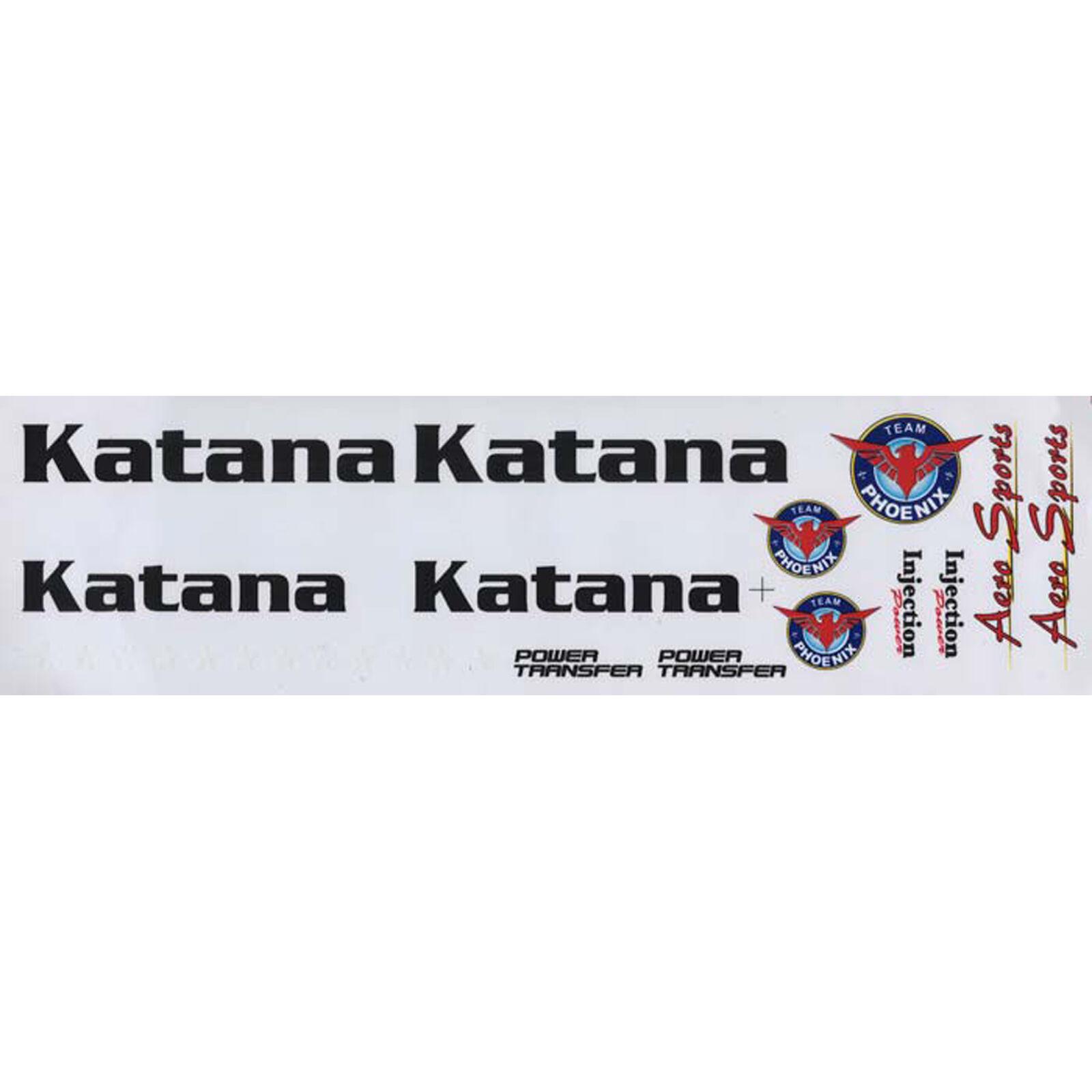 Decal Sheet Katana EP ARF