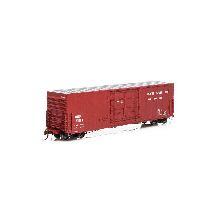 HO 50' PC&F SS Box w 14' Plug Door NSHR #5511