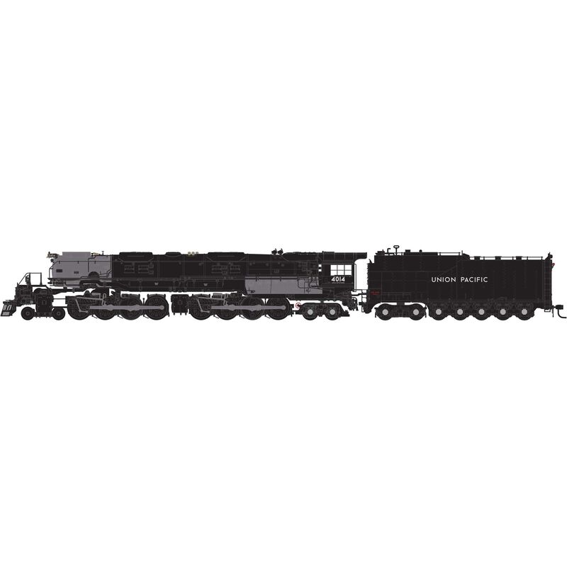 HO 4-8-8-4 Big Boy with DCC & Sound UP #4014 Excursion