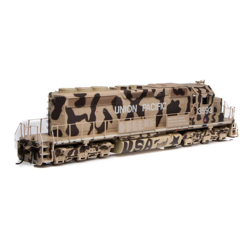 HO RTR SD40-2 UP Desert Victory #3593