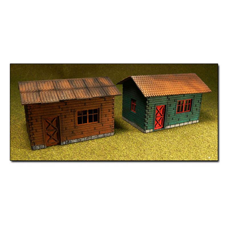 HO KIT Laser Cut Cottage (2)